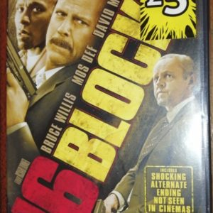 16 Blocks DVD