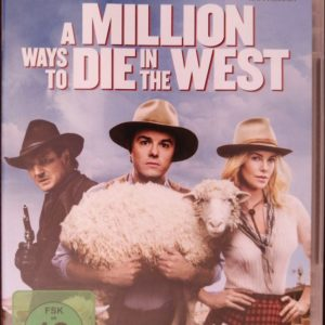 A Million Ways to Die in the West DVD B