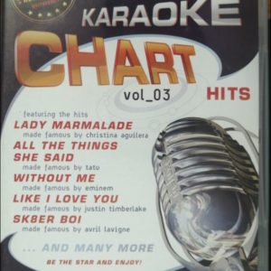 Karaoke: Chart Hits - Vol. 03 DVD D