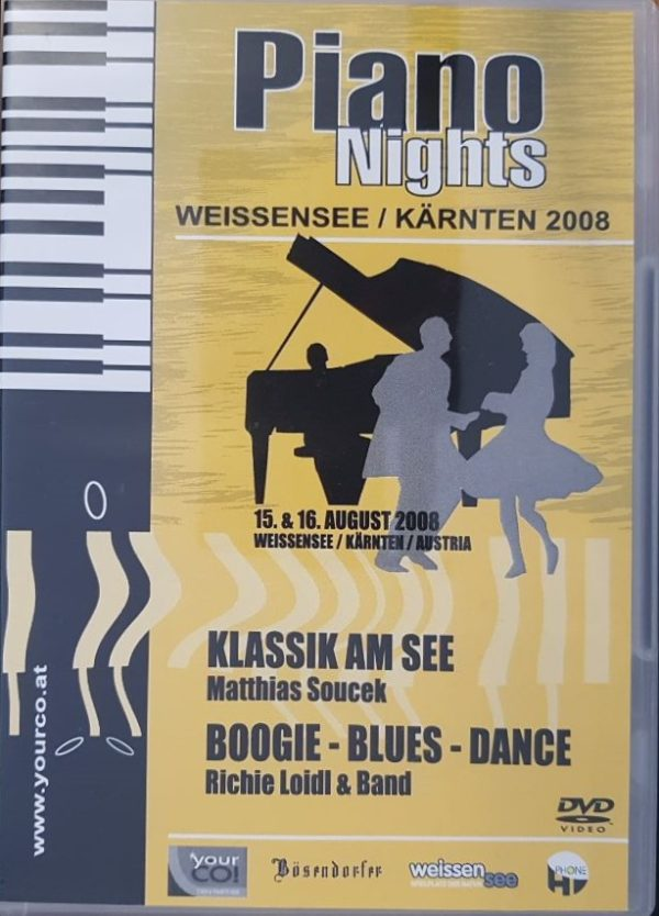 Piano Nights 2008 DVD B