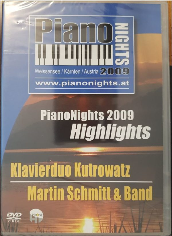 Piano Nights 2009 DVD - Neu A