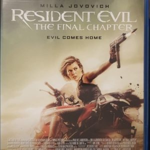 Resident Evil: The Final Chapter Blu-ray C