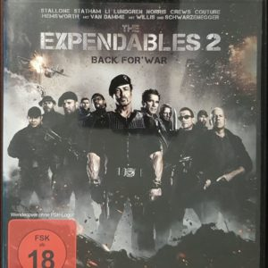 The Expendables 2 - Back for War (Special Uncut Edition) Blu-ray B