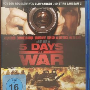 5 Days of War Blu-ray B