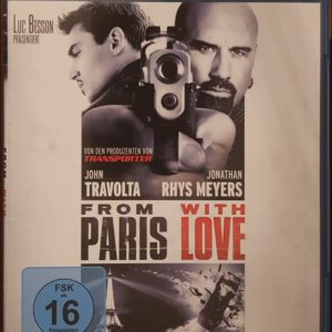 From Paris with Love Blu-ray B