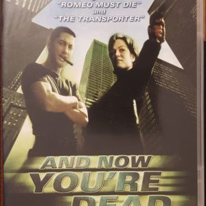 And Now You´re Dead DVD B